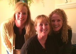 Two of my sisters, Sara and Molly, with me at Thanksgiving.